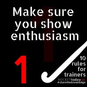 10 rules for trainers - rule 1