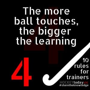 10 rules for trainers - rule 4