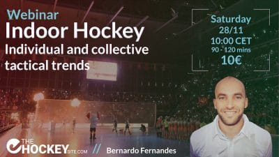 Indoor hockey Bernardo Fernandes